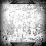 Fondo di piastra metallica spazzolato del modello Fotografia Stock