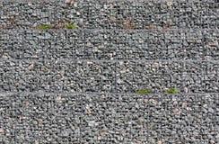Fondo di pietra al suolo grigio delle macerie di molte piccole pietre immagini stock libere da diritti