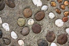 Fondo di pietra approssimativo Fotografia Stock