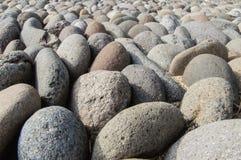Fondo di pietra del fiume Immagine Stock Libera da Diritti