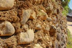Fondo di pietra della parete Immagine Stock