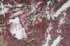 Fondo di pietra di marmo rosso di struttura Immagini Stock Libere da Diritti