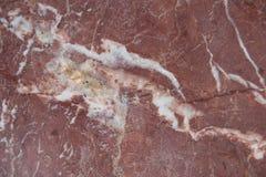 Fondo di pietra di marmo rosso di struttura Fotografia Stock