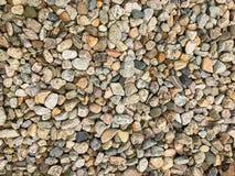 Fondo di pietra di Peeble Fotografia Stock