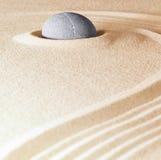 Fondo di pietra di zen Fotografia Stock