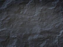 Fondo di pietra nero Fotografia Stock