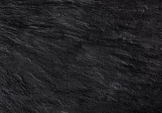 Fondo di pietra nero di struttura Fotografia Stock
