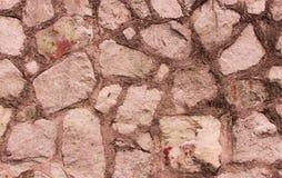 Fondo di pietra, parete della roccia, Fotografie Stock Libere da Diritti
