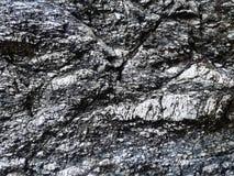 Fondo di pietra reale di struttura grigio Cascata Superficie della roccia Il Gr Fotografia Stock Libera da Diritti