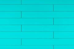 Fondo di plastica blu di alta risoluzione della parete con la forma del mattone Immagine Stock