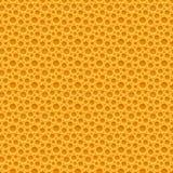 Fondo di plastica senza cuciture giallo illustrazione vettoriale