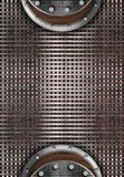 fondo di progettazione della maglia metallica fotografia stock libera da diritti