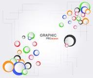 Fondo di progettazione grafica con lo spazio del testo Fotografia Stock