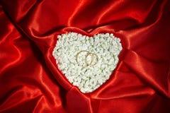 Fondo di proposta di matrimonio Fotografie Stock