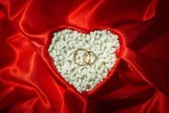 Fondo di proposta di matrimonio Immagine Stock Libera da Diritti