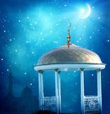 Fondo di Ramadan Kareem fotografia stock