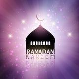 Fondo di Ramadan Kareem Fotografie Stock Libere da Diritti