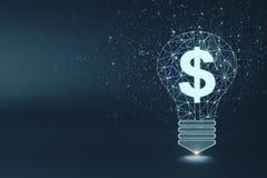 Fondo di ricchezza, di idea, dei soldi e dell'innovazione royalty illustrazione gratis