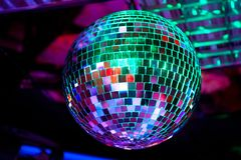 Palla della discoteca Immagini Stock Libere da Diritti
