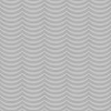 Fondo di ripetizione di Gray Wavy Stripes Tile Pattern Fotografie Stock