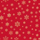 Fondo di ripetizione senza cuciture del modello dei fiocchi di neve di Natale ENV 10 royalty illustrazione gratis