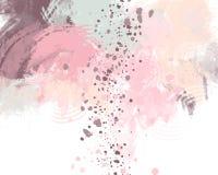 Fondo di rosa pastello, astratto Fotografia Stock Libera da Diritti
