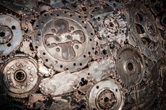 Fondo di saldatura del metallo della cucitura Immagini Stock