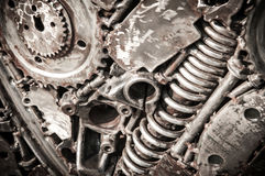 Fondo di saldatura del metallo della cucitura Fotografie Stock Libere da Diritti