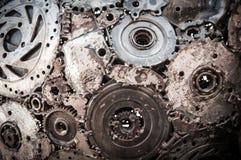 Fondo di saldatura del metallo della cucitura Fotografia Stock
