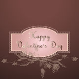 Fondo di San Valentino Fotografia Stock Libera da Diritti