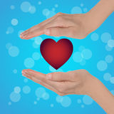 Fondo di San Valentino Immagini Stock Libere da Diritti