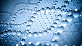 Fondo di scienza del DNA Immagine Stock Libera da Diritti