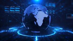 Fondo di scienza e di tecnologia digitale video d archivio