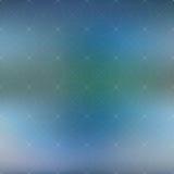 Fondo di scienza e tecnologia Griglia astratta con le linee del collegamento Illustrazione di vettore