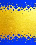 Fondo di scintillio dell'arcobaleno dell'oro Immagine Stock Libera da Diritti
