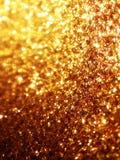 Fondo di scintillio dell'oro Immagine Stock