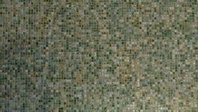 Fondo di scorrimento dell'acqua della parete del mosaico archivi video