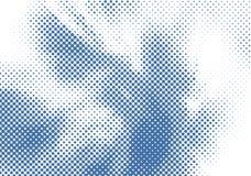 Fondo di semitono blu per progettazione Illustrazione di vettore fotografie stock