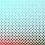 Fondo di semitono del modello del cerchio di pendenza geometrica - progettazione grafica Fotografia Stock