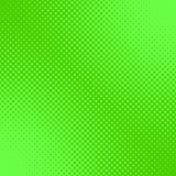 Fondo di semitono verde del modello di punto - grafico di vettore dai cerchi royalty illustrazione gratis