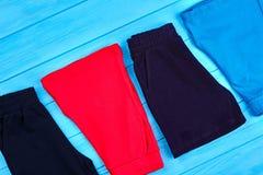Fondo di shorts colorato bambini Fotografia Stock