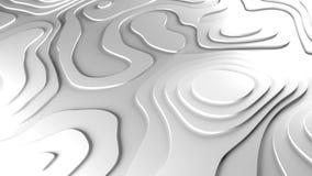 fondo di sollievo di topologia 3D illustrazione di stock