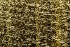 Fondo di stagnola brillante goldy con la timbratura orizzontale fine Immagine Stock Libera da Diritti