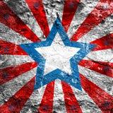 Fondo di stile di U.S.A. Fotografia Stock