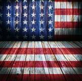 Fondo di stile di U.S.A. Immagini Stock