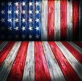 Fondo di stile di U.S.A. Fotografia Stock Libera da Diritti