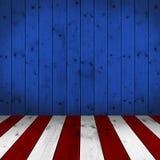 Fondo di stile di U.S.A. - di legno Fotografia Stock Libera da Diritti
