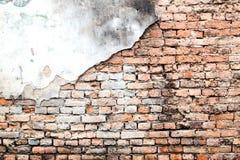 Fondo di struttura d'annata del muro di mattoni fotografia stock libera da diritti