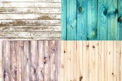 Fondo di struttura dei bordi di legno Fotografia Stock Libera da Diritti