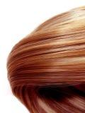 Fondo di struttura dei capelli di punto culminante Fotografia Stock Libera da Diritti